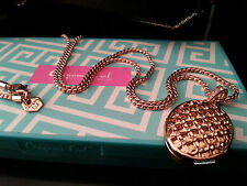NEW ORIGAMI OWL 2016 Rose Gold Wish Necklace
