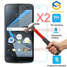 2Pcs Premium 9H+ Tempered Glass Screen Film Protector For BlackBerry Neon DTEK50