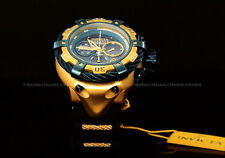 Invicta Reserve 56mm Thunderbolt Swiss Made Movt Chrono Blue Dial Strap Watch