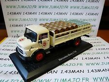 DDR4 camion 1/43 test Allemagne Beer TRUCKS : MERCEDES BENZ L710 biere