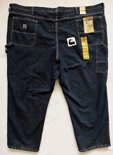Men's Lee Carpenter Jeans Straight Leg Blue Denim Size 60x29