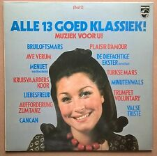 LP Various - Alle 13 Goed Klassiek! Deel 2 Philips ‎– 6833 111 Classical Nm