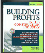 Building Profits: In the Construction Industry(2000,Hardcover w/CD-ROM DISC)NEW!