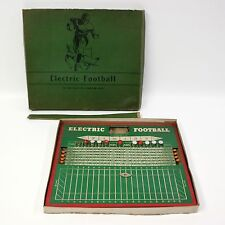 Vtg 1936 Jim Prentice Electric Football Board Game Toy Holyoke MA Bar Decoration