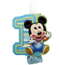 Disney MICKEY MOUSE 1st Birthday ~ (8) Party Blowouts ~Party Supplies Decoration