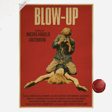 BLOW-UP Classics Old Movie Poster Vintage Brown Paper Poster Bar Room Decor A105