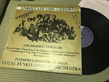 "Regal Funkharmonic Orchestra ‎– Strung Out On Motown 12"" maxi Spain promo soul"