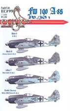 EagleCals Decals 1/48 FOCKE WULF Fw-190A-8 Fighter Sturmjager JV/JG3