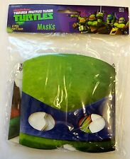 8  Teenage Mutant Ninja Turtles TMNT  Masks  Birthday Party Supplies