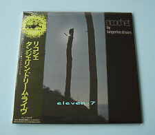 TANGERINE DREAM Ricochet JAPAN mini LP CD brand new & still sealed
