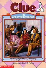 The Case of the Invisible Cat (Clue Book #3), A. E. Parker, Good Book