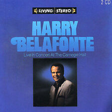 Live in Concert at the Carnegie Hall by Harry Belafonte (CD, Aug-1993,...