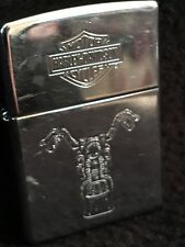 ~ Vintage~ Zippo Lighter - Harley Davidson - Motorcycle  over 30 years old Rare