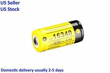 Klarus 16340 3.7V 650mAh Rechargeable Li-Ion Battery