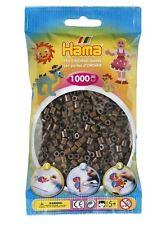 Hama - 207-12 Sachet 1000 Perles à repasser Marron