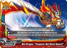 "Buddyfight x 4 Bal Dragon, ""Tempest! Bal Steel Sword!"" [D-BT02/0025EN R] English"