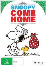 Snoopy Come Home (DVD, 2015) Bill Melendez, Chad Webber, Chris De Faria-NEW