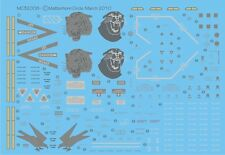 Materhorn circle Ice Hornets 32008B    FA-18c & D mirage hawker hunter Decals