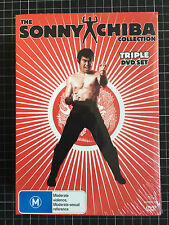 THE SONNY CHIBA COLLECTION new Australian DVD BOX SET cult Japanese martial arts