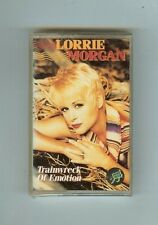 LORRIE MORGAN - TRAINWRECK OF EMOTION  - CASSETTE - NEW