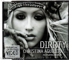 CHRISTINA AGUILERA - DIRRTY (4 track CD single)