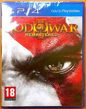 God of War III - Playstation PS4 Games - Brand New & Sealed
