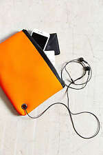 Urban Outfitters Neoprene Organizer Pouch Multi functional bag  Orange