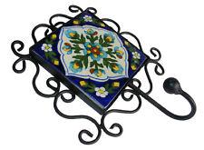 orientalische Keramik Metall garderobe hacken Wandhaken kleiderhaken HOOK
