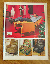 1965 TV  Stratolounger Reclining Chair Ad