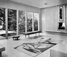 1968 DENS OFFICES RECREATION FAMILY ROOM DESIGN IDEAS mid century modern