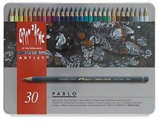 Caran D'ache Pablo Coloured Pencil 30 Colour Tin
