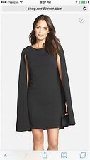 ADRIANNA PAPELL DRESS /NEW WITH TAG/SIZE 10/RETAIL$160/ BLACK/NORDSTORM DRESS