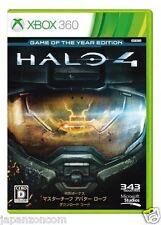 Used Xbox 360 Halo 4 : Game of the Year MICROSOFT JAPAN JAPANESE JAPONAIS IMPORT