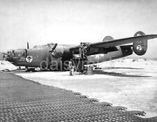 """US Air Force 512 Bomb Sqd B 24 Liberator Tunisia 1943 World War 2 4x4"""" Reprint R"""