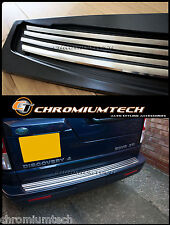 Rear Bumper Protector Polished Stainless Steel Trim for Land Rover Discovery 3/4