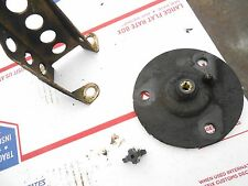 2001 SKIDOO 380 FAN MXZ snowmobile: track drive shaft DRY BEARING STAY PLATE