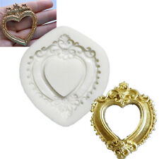 Plaque Silicone Molds Cake Moulds Heart Chocolate Fondant Cooking Tools Cupcake