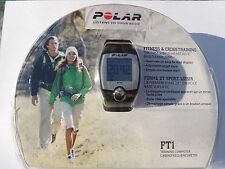 Polar Fitness Watch Ft1 Heart Rate Monitor Sports with Transmitter Strap Black