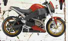 Buell Lightning XB12S 2004 Aged Vintage SIGN A4 Retro