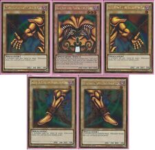 Yu-Gi-Oh! Complete Exodia the Forbidden One *5* Cards 1st Edition Gold Rares Set
