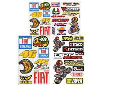 New 3 Valentino Rossi Motocross Moto GP Racing Graphic stickers/decals. (lot#2)