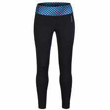 Reebok Womens Sports Training Pant Straight Printed Gym Running Leggings - XXS