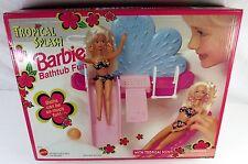 1994 BARBIE TROPICAL SPLASH BATHTUB FUN PLAYSET #67157 NEW Sealed