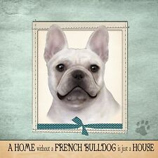 French Bulldog Frenchie Soft Couch Dog Breed Throw Pillow