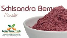Organic Schisandra Berry Powder Natural Antioxidant Source 25g FREE UK Delivery