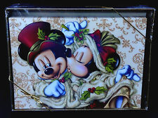 NEW DISNEY Parks VICTORIAN MICKEY AND MINNIE MOUSE Christmas Cards w/Envelopes