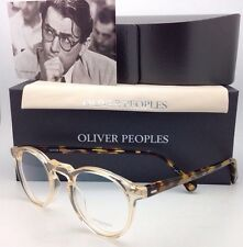 OLIVER PEOPLES Eyeglasses GREGORY PECK OV 5186 1485 45-23 Round Buff & Tortoise