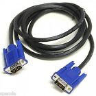 20 SVGA/VGA 15PIN MALE TO MALE PC MONITOR TV LCD PLASMA PROJECTOR TFT CABLE LEAD