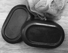 ACTIVATED CHARCOAL& FLAX SEEDS with SHEA BUTTER SOAP 6 Ounces (170 Grams)