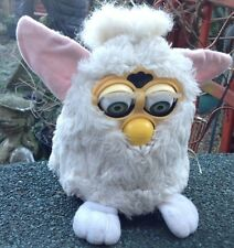 Vintage White Furby Spares or repairs By Tiger Electronics